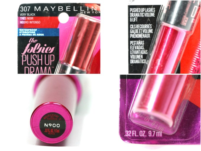 Maybelline Falsies Push Up Drama Mascara Review, Swatches, Demo details