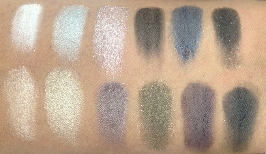 Maybelline The Rock Nudes Eye Shadow Palette Review, Swatches 2