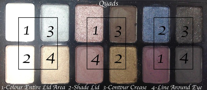 Maybelline The Rock Nudes Eye Shadow Palette Review, Swatches Quads