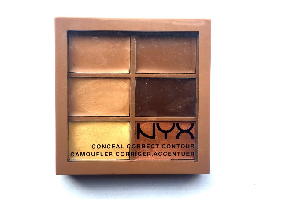 NYX Conceal, Correct, Contour 3C Palette Review, Swatches MBF Blog
