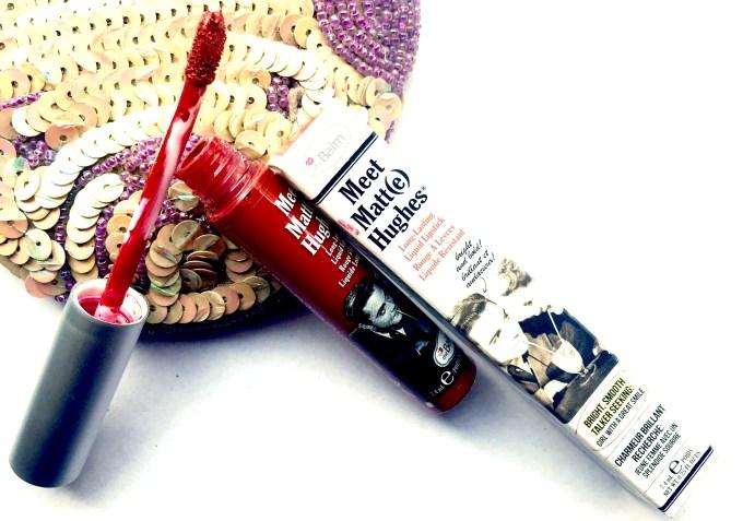 theBalm Meet Matte Hughes Long Lasting Liquid Lipstick Loyal Review, Swatches MBF Blog