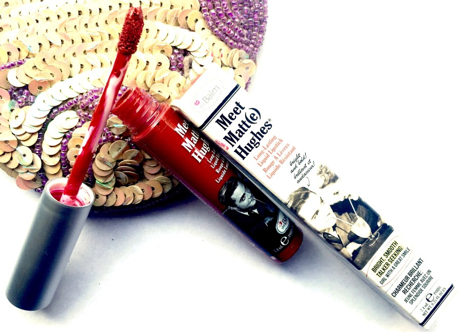 theBalm Meet Matte Hughes Long Lasting Liquid Lipstick Loyal Review, Swatches MBF Blog