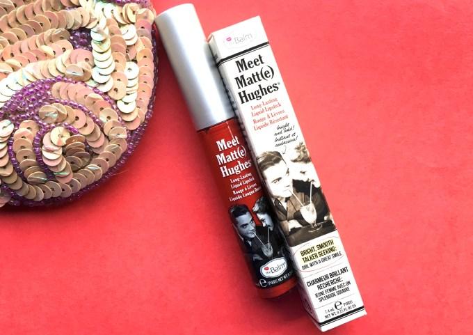 theBalm Meet Matte Hughes Long Lasting Liquid Lipstick Loyal Review, Swatches MBF