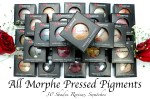 All Morphe Pressed Pigments 30 Shades Review, Swatches