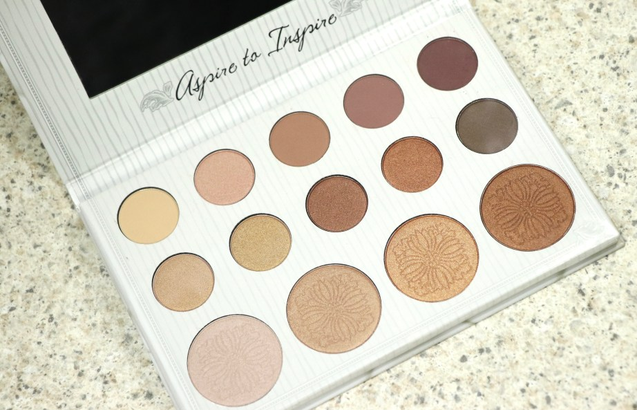 BH Cosmetics Carli Bybel Eyeshadow & Highlighter Palette Review, Swatches MBF