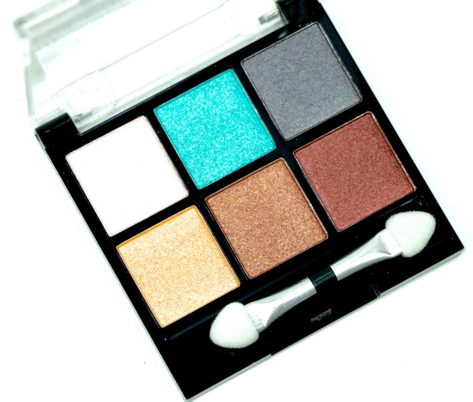 BH Cosmetics Foil Eyes To Go 6 Color Eyeshadow Palette Review, Swatches MBF