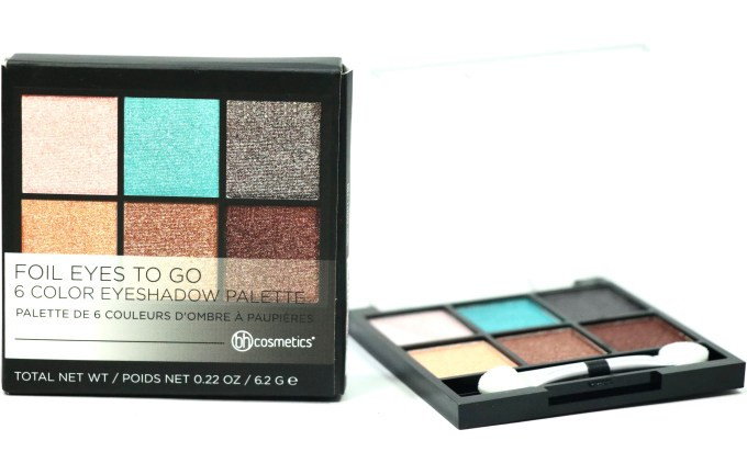 BH Cosmetics Foil Eyes To Go Eyeshadow Palette Review, Swatches MBF