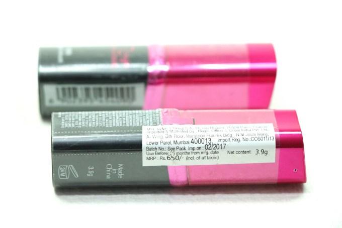 L'Oreal Paris Rouge Magique Lipstick Price Details
