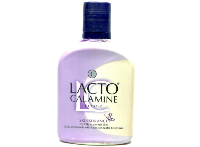 Lacto Calamine Classic Skinsurance for Oily Normal Skin Review, Demo MBF Blog