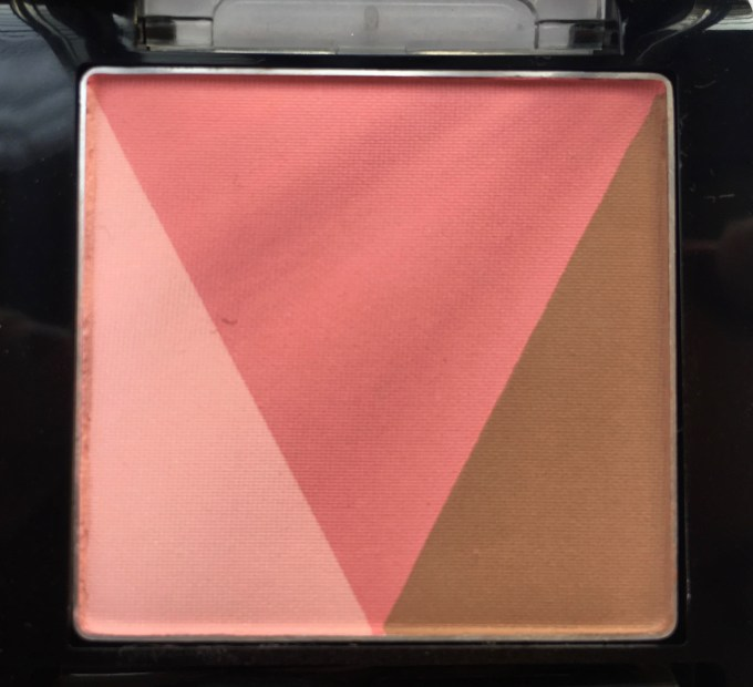 Maybelline V Face Blush Contour Pink Review, Swatches Closeup