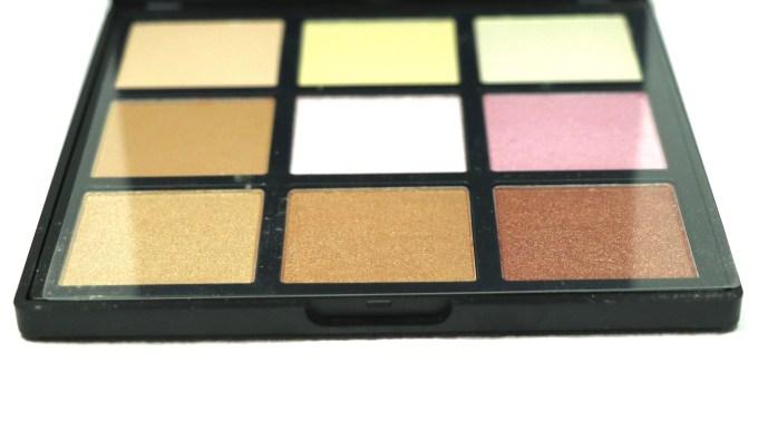 Morphe Deysi Danger Highlight Palette Review, Swatches Plastic