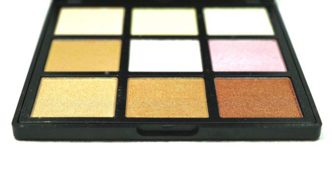 Morphe Deysi Danger Highlight Palette Review, Swatches expose