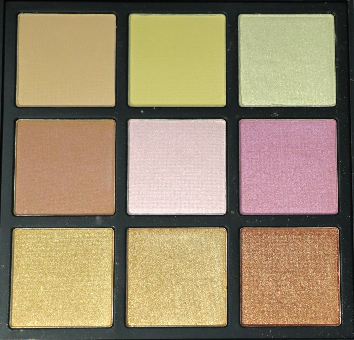Morphe Deysi Danger Highlight Palette Review, Swatches focus