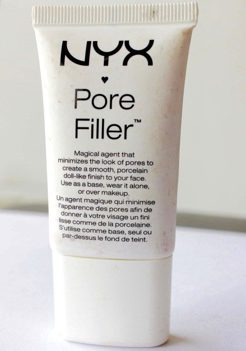 NYX Pore Filler Makeup Primer Review, Swatches MBF Blog