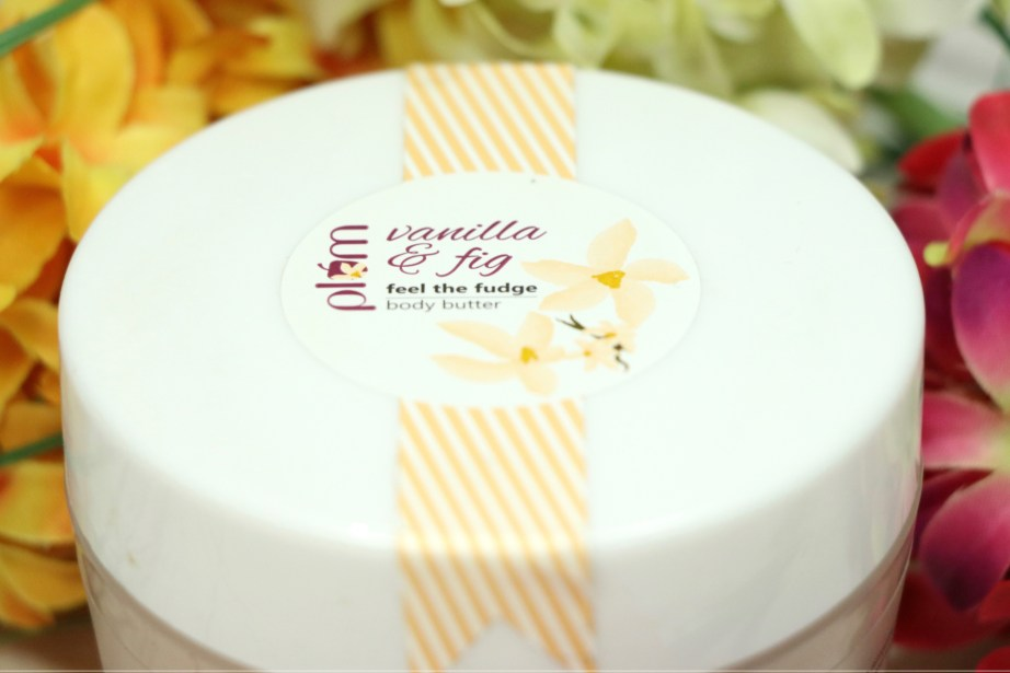Plum Vanilla & Fig Feel The Fudge Body Butter Review 4