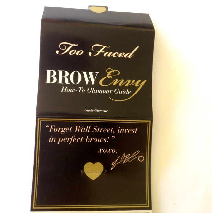 Too Faced Brow Envy Brow Shaping & Defining Kit Review, Swatches Glamor Guide 3 MH