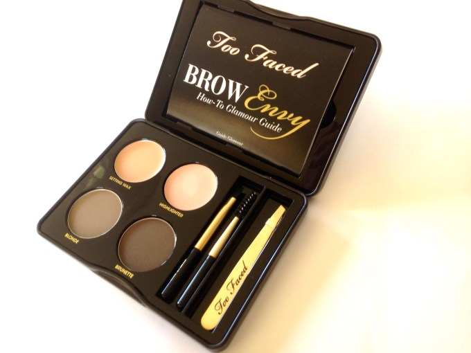 Too Faced Brow Envy Brow Shaping & Defining Kit Review, Swatches Inside