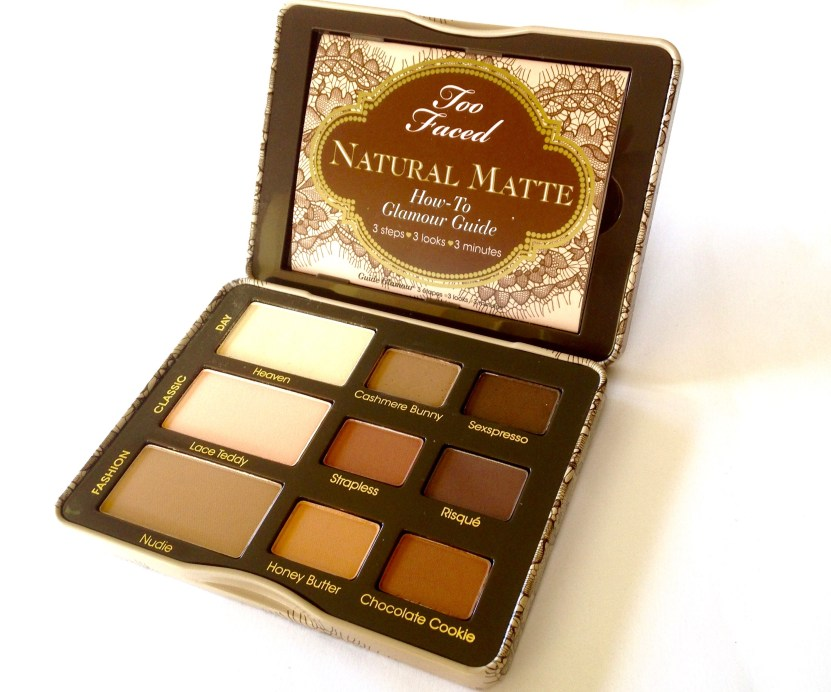 Too Faced Natural Matte Eyeshadow Palette Review, Swatches MBF