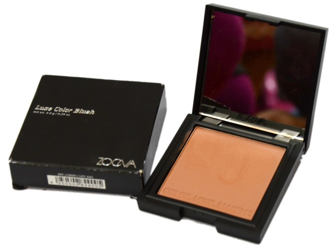Zoeva Luxe Color Blush Burning Up Review, Swatches