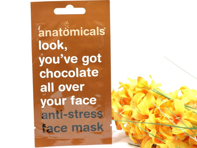Anatomicals Look You've Got Chocolate All Over Your Face Anti-Stress Face Mask Review MBF