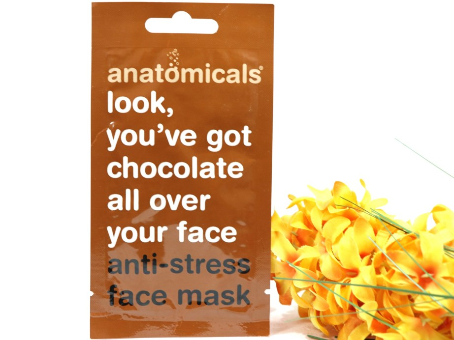 Anatomicals Look You've Got Chocolate All Over Your Face Anti-Stress Face Mask Review