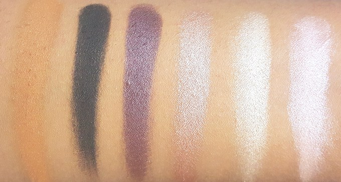 BH Cosmetics Illuminate Ashley Tisdale Night Goddess Palette Review, Swatches 1
