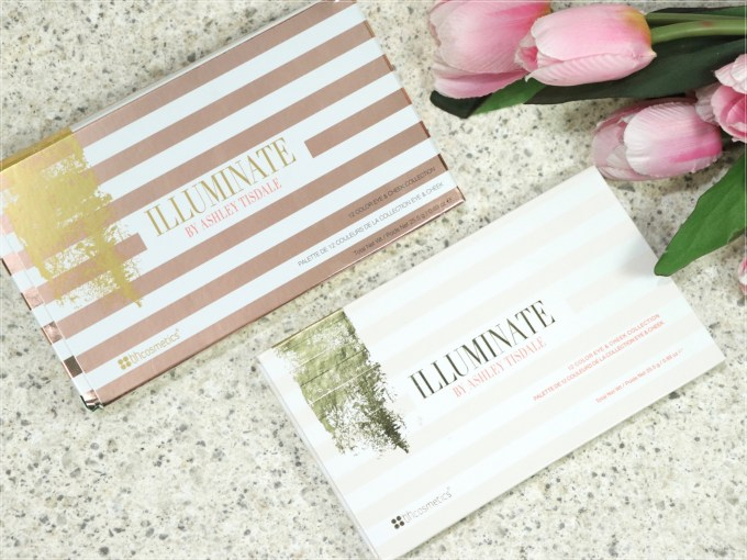 BH Cosmetics Illuminate Ashley Tisdale Night Goddess Palette Review, Swatches box