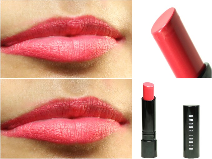Bobbi Brown Creamy Matte Lip Color Calypso Review, Swatches On Lips