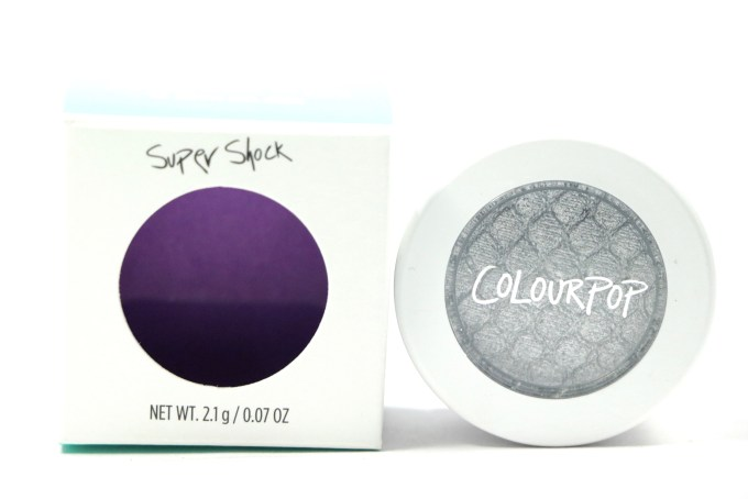 ColourPop Liberty Super Shock Metallic Shadow Review, Swatches