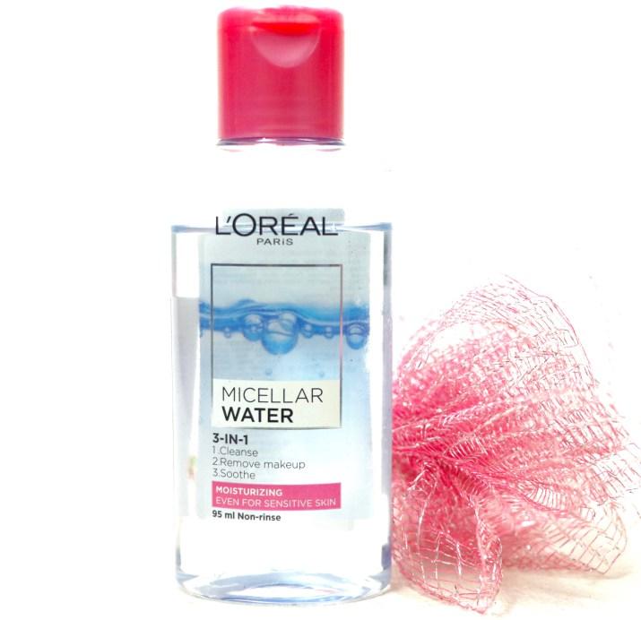 L'Oreal Paris Micellar Water 3 in 1 Review, Demo MBF