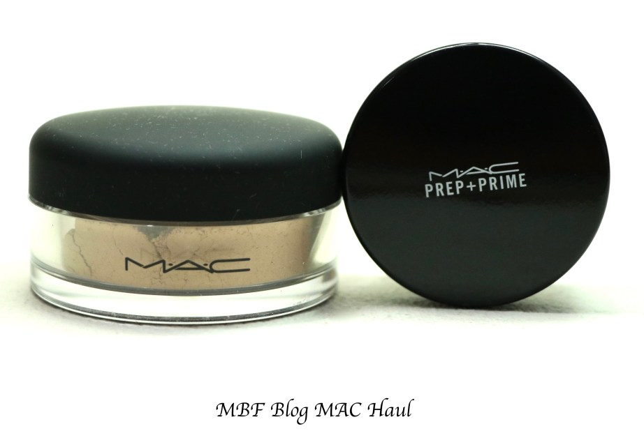 MAC Mineralize Foundation Loose MAC Prep + Prime Transparent Finishing Powder