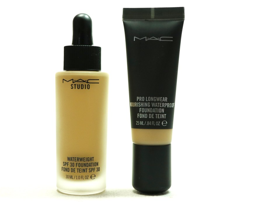 MAC Studio Waterweight SPF 30 Foundation MAC Pro Longwear Nourishing Waterproof Foundation