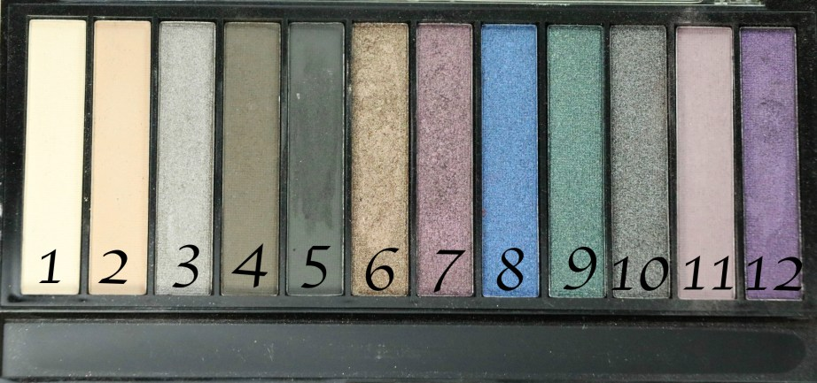 Makeup Revolution Hot Smoked Redemption Palette Review, Swatches Shade Name number