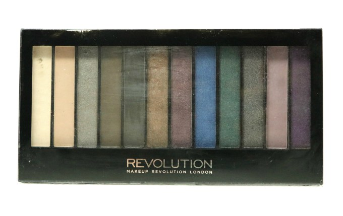 Makeup Revolution Hot Smoked Redemption Palette Review, Swatches front