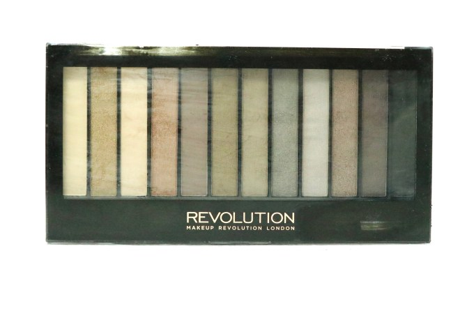 Makeup Revolution Iconic 2 Redemption Palette Review, Swatches front