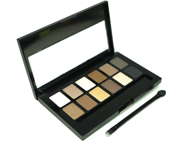 Maybelline The Nudes Eyeshadow Palette Review, Swatches MBF Blog