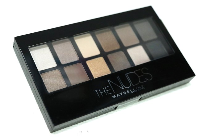 Maybelline The Nudes Eyeshadow Palette Review, Swatches MBF