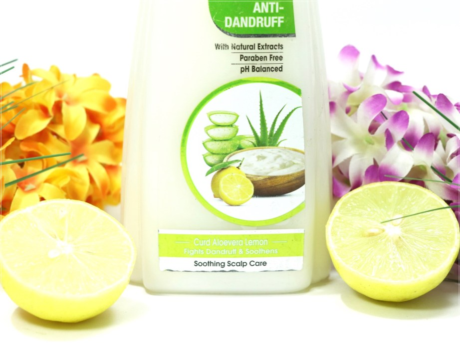 Nyle Naturals Anti Dandruff Shampoo Review focus