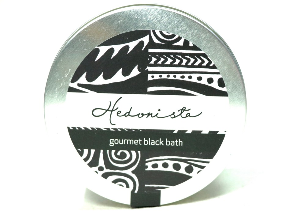Hedonista Gourmet Black Bath Soap Review front