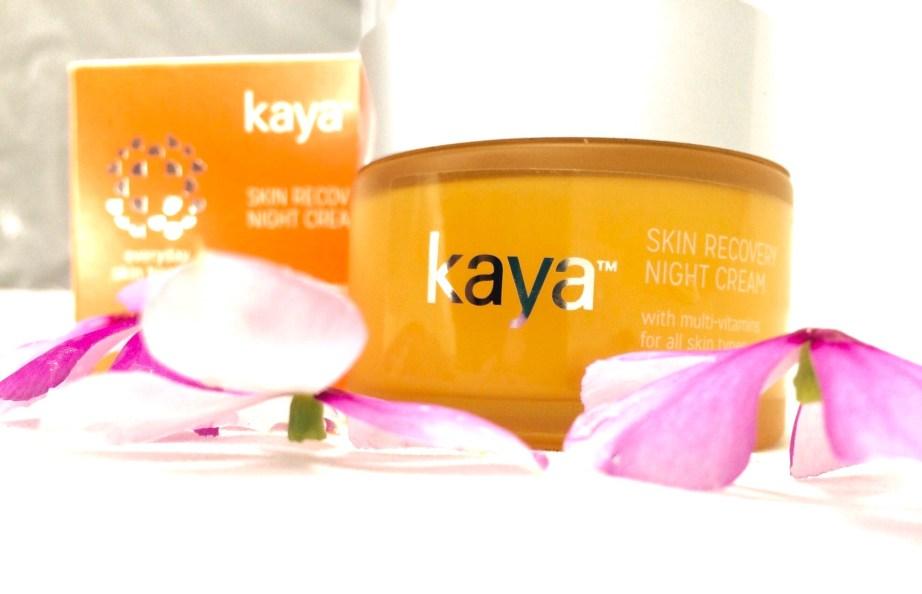 Kaya Skin Recovery Night Cream Review MBF Blog