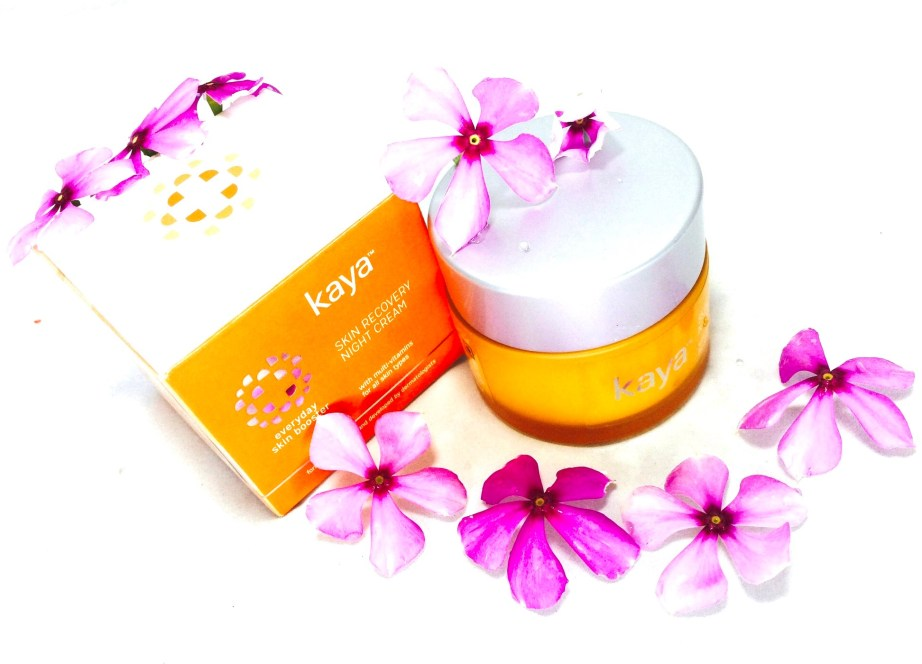 Kaya Skin Recovery Night Cream Review MBF