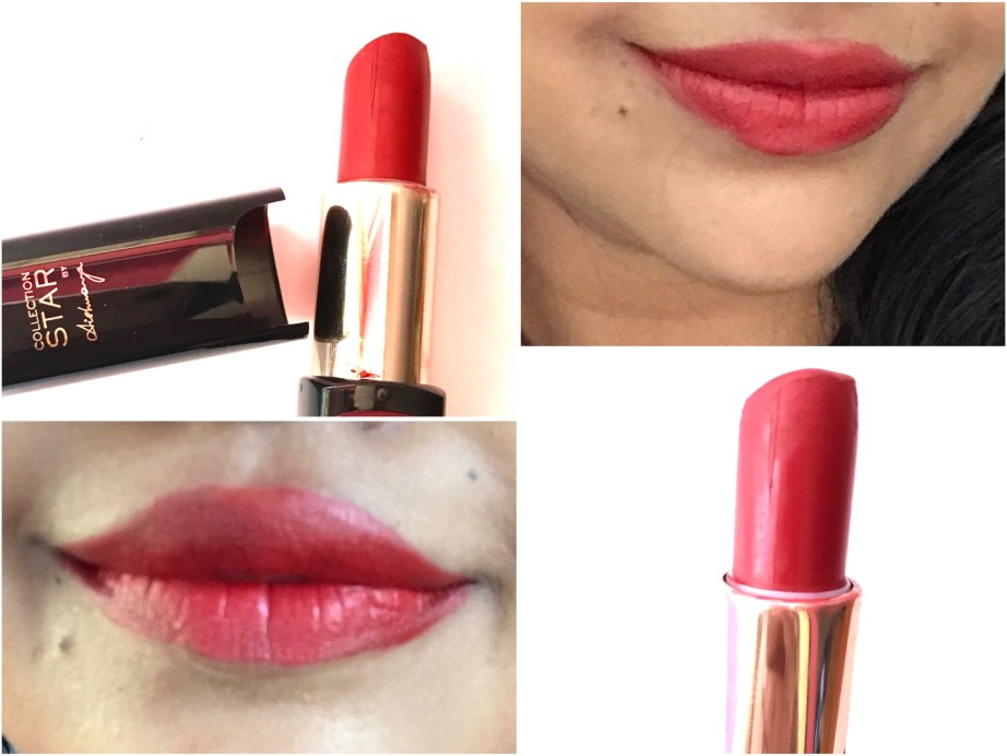 L'Oreal Pure Brick Color Riche Pure Reds Star Collection Lipstick Review, Swatches On Lips