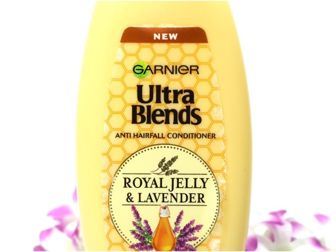 Garnier Ultra Blends Royal Jelly & Lavender Conditioner Review MBF