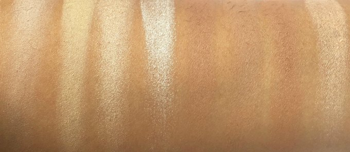 Makeup Revolution Ultra Contour Palette Review, Swatches 2