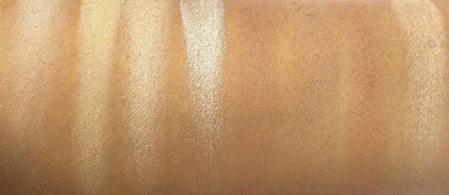Makeup Revolution Ultra Contour Palette Review, Swatches 2