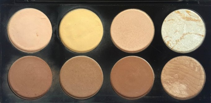 Makeup Revolution Ultra Contour Palette Review, Swatches MBF Blog