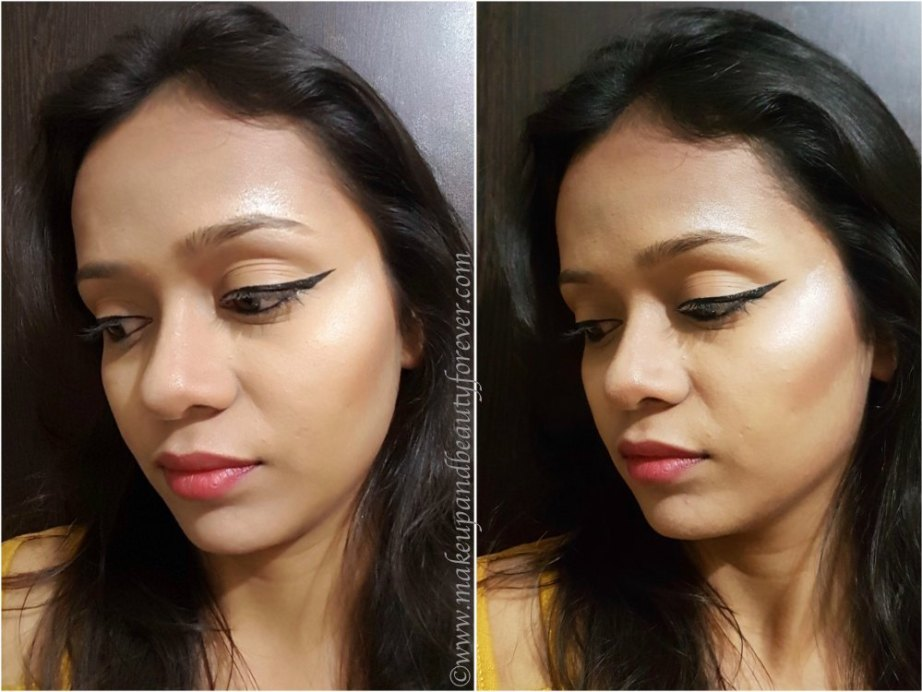 Makeup Revolution Ultra Contour Palette Review, Swatches MBF Makeup Look