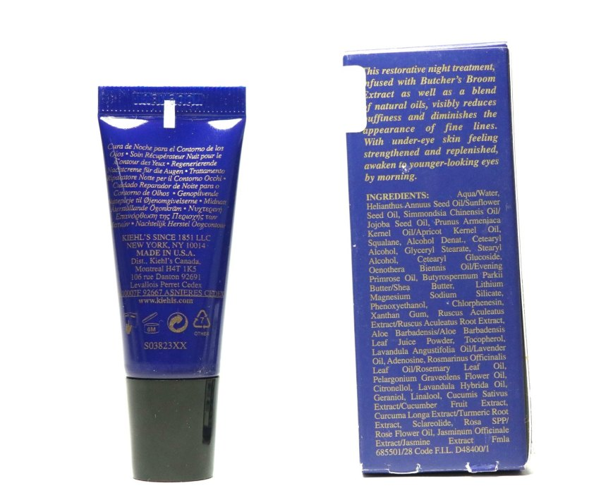 Kiehl's Midnight Recovery Eye Cream Review All Details