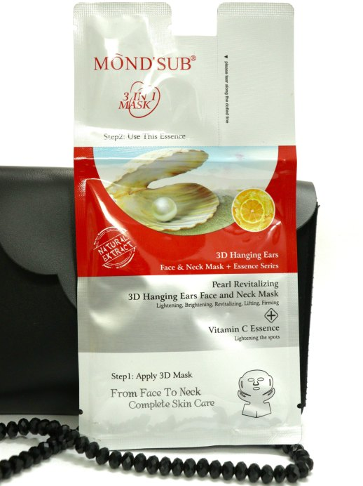 Mond'Sub Pearl Revitalizing 3D Hanging Ears Face & Neck Mask