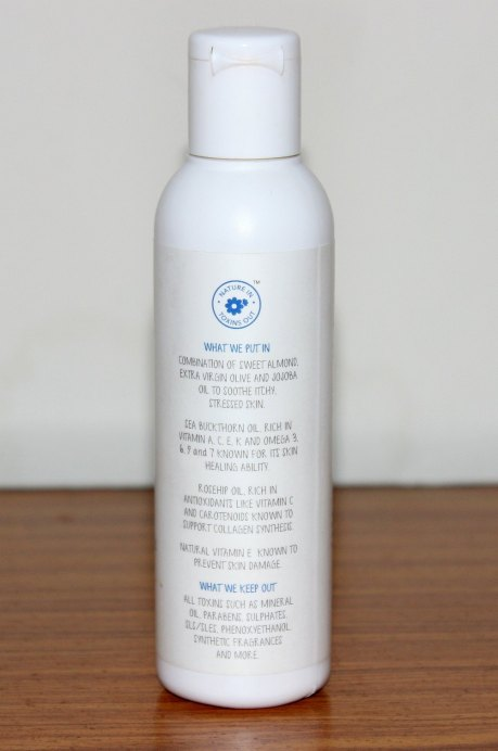 The Moms Co Natural Stretch Oil Review details